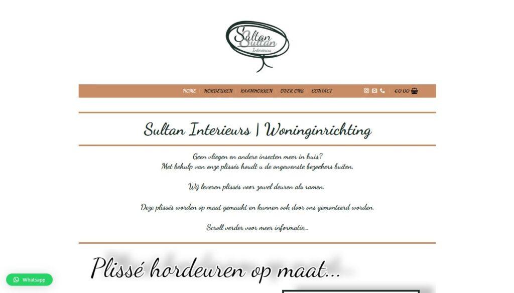 Sultaninterieurs | Plissé hordeuren & Plissé raamhorren