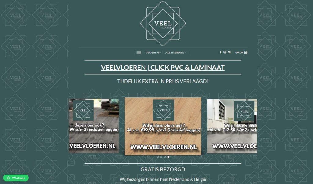 Veelvloeren.nl | Click PVC & Laminaat